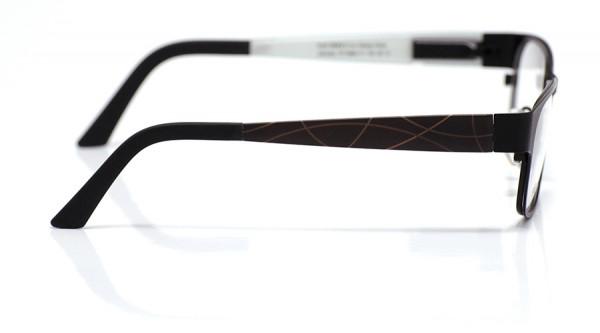 eye:max Wechselbügel 5668.111 Kunststoff Bogenlinie braun 135mm