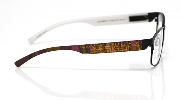 eye:max Wechselbügel 5879.07 Kunststoff Lübeck braun lila 138mm