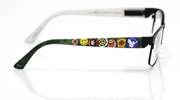 eye:max Wechselbügel 5885.02 Kunststoff Demo Buttons 70 80er bunt 135mm