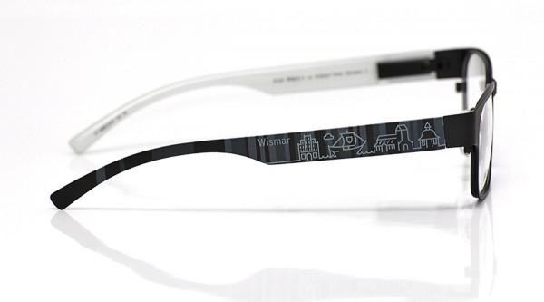 eye:max Wechselbügel 5896.0234 Kunststoff Wismar schwarz 138mm