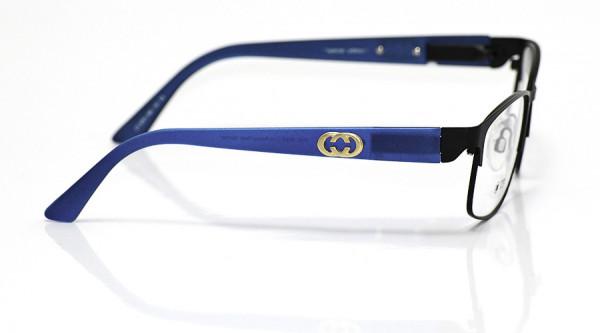 eye:max Wechselbügel 5701.358 Kunststoff blau/Metallapplikation gold 135mm
