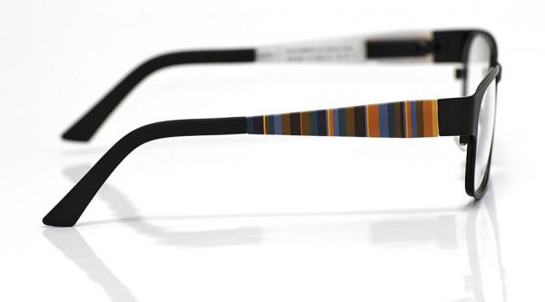 eye:max Wechselbügel 5567.03 Kunststoff Vertikale Streifen orange,grün,bordeaux 125mm