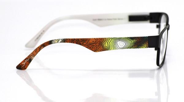 eye:max Wechselbügel 5620.203 Kunststoff Aquarelle gelb rot 135mm