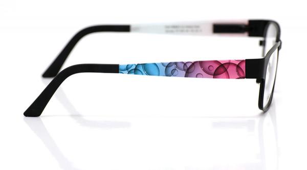 eye:max Wechselbügel 5461.06 Kunststoff Blasen pink, blau 135mm