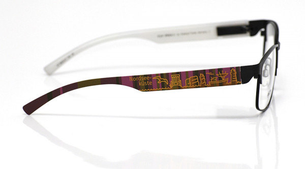 eye:max Wechselbügel 5839.07 Kunststoff Nordseeküste braun lila 138mm