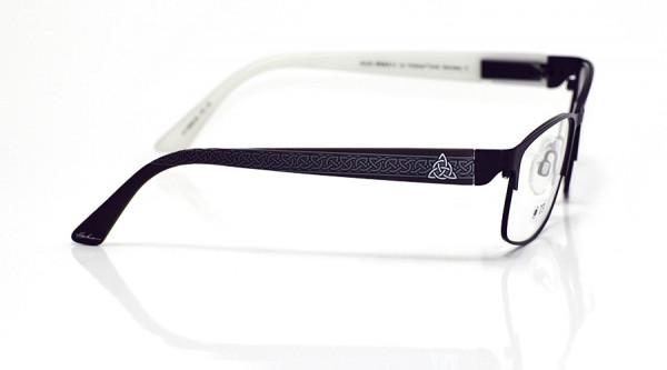 eye:max Wechselbügel 5698.06 Kunststoff keltischer Knoten schwarz 135mm