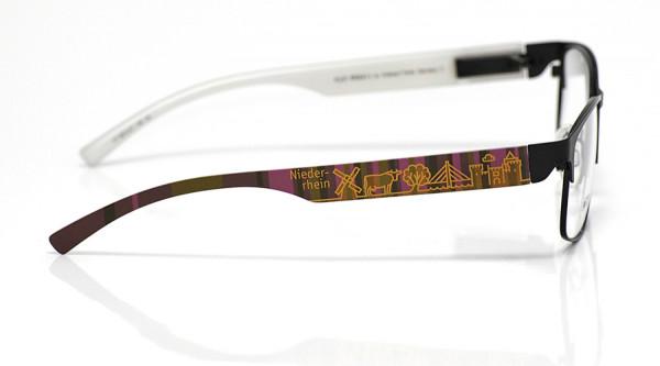 eye:max Wechselbügel 5872.07 Kunststoff Niederrhein braun lila 138mm