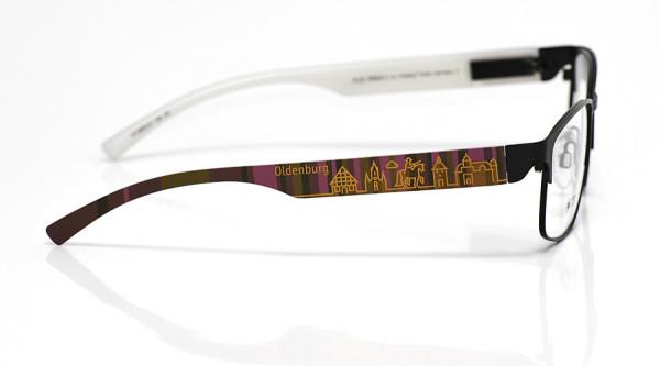 eye:max Wechselbügel 5875.07 Kunststoff Oldenburg braun lila 138mm