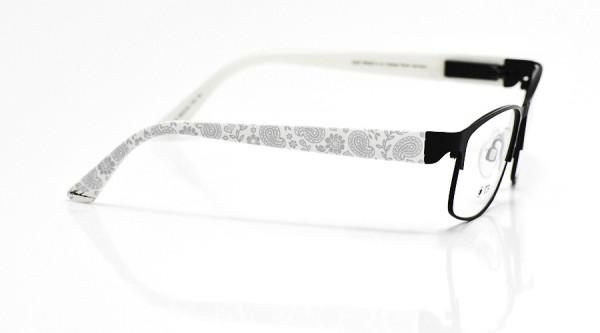eye:max Wechselbügel 5674.04 Kunststoff Paisley weiß 135mm
