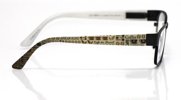 eye:max Wechselbügel 5836.05 Kunststoff Kaffeesymbole h.braun 135mm