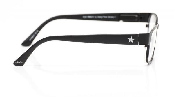 eye:max Wechselbügel 5592.07 Kunststoff schwarz mit Glitzerstern 135mm