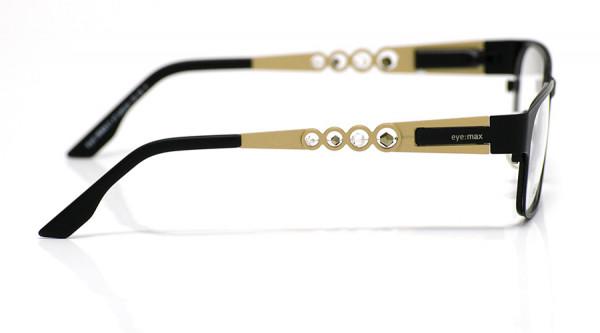 eye:max Wechselbügel 5450.04 Edelstahl gold matt135mm